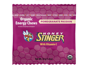 HONEY STINGER CHEWS MASTICABLES ENERGIZANTES 10 UNID POMEGRANATE